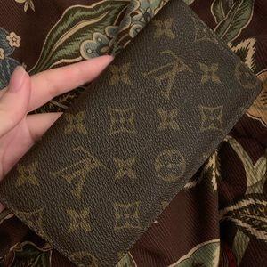 Vintage Louis Vuitton Checkbook & Card Holder